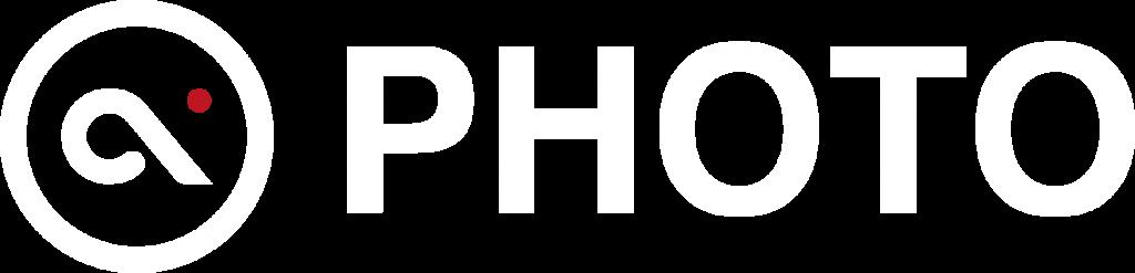 Photo logo White